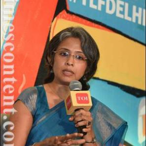 Speaking at the Times Lit Fest 2016