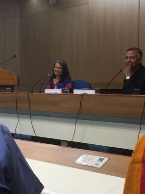 Canvas Askew series at Habitat Centre (Delhi) - in conversation with Dr Amit Sen