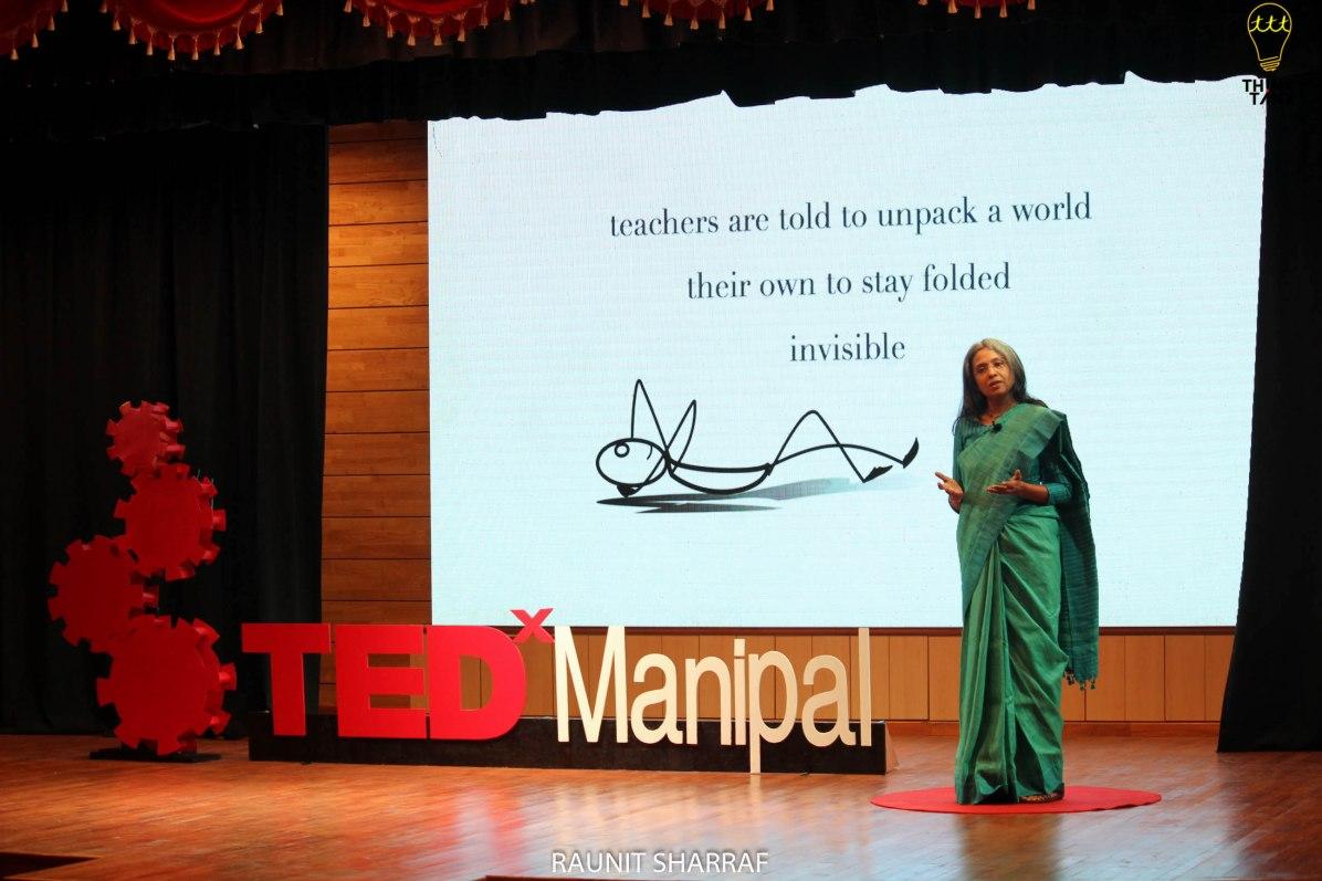 'When a Teacher Walks', TEDxManipal, February 2019